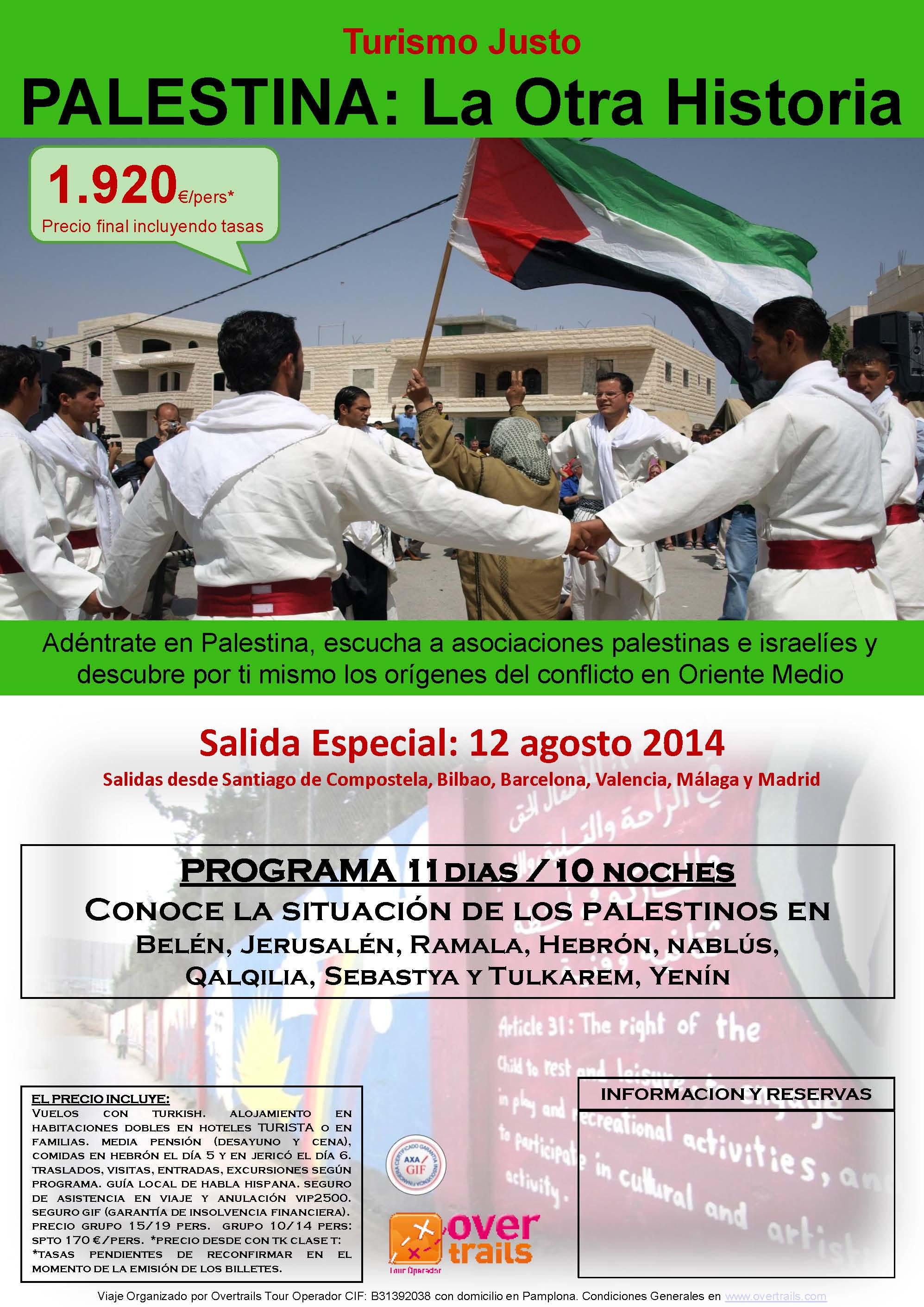 PALESTINA LA OTRA HISTORIA II 12 agosto 2014 jpg
