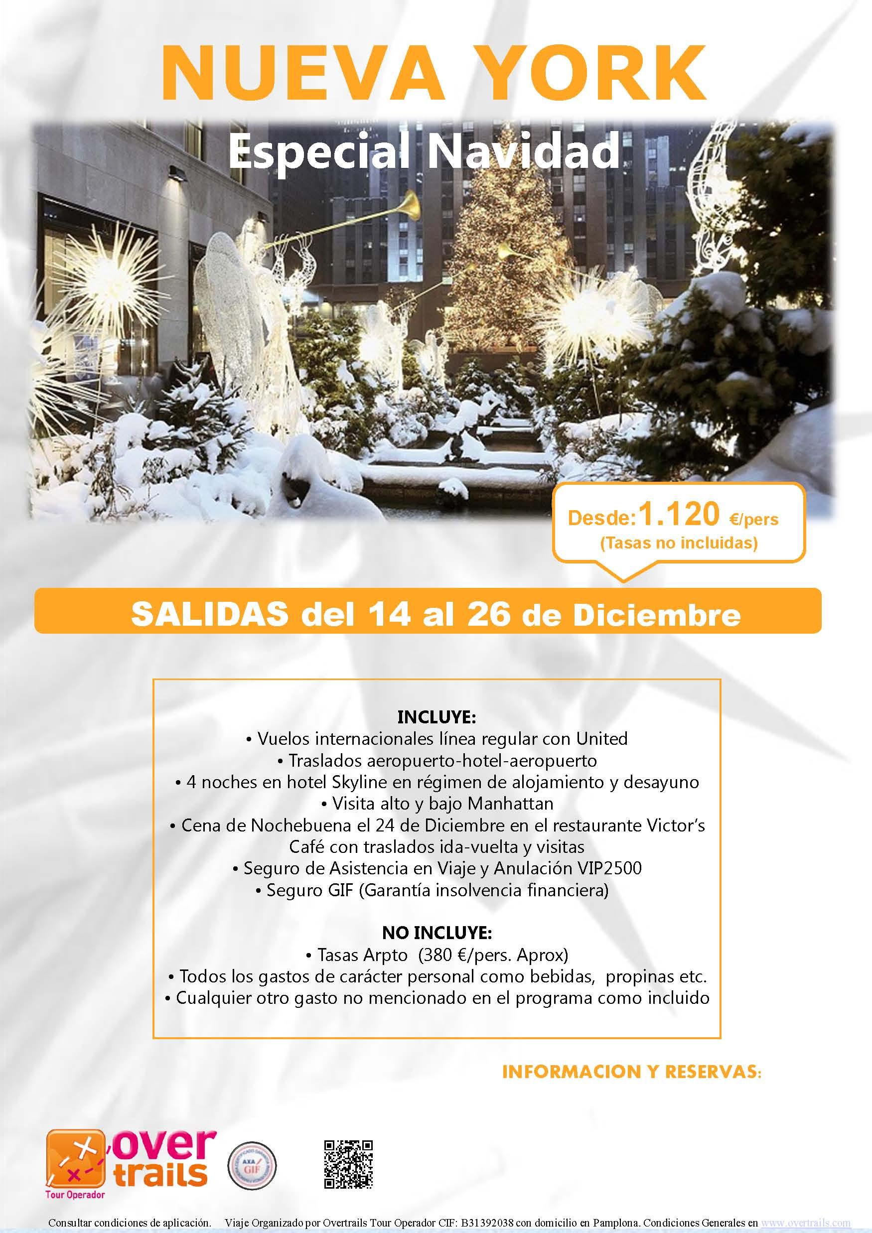 NUEVA YORK: Especial Navidad