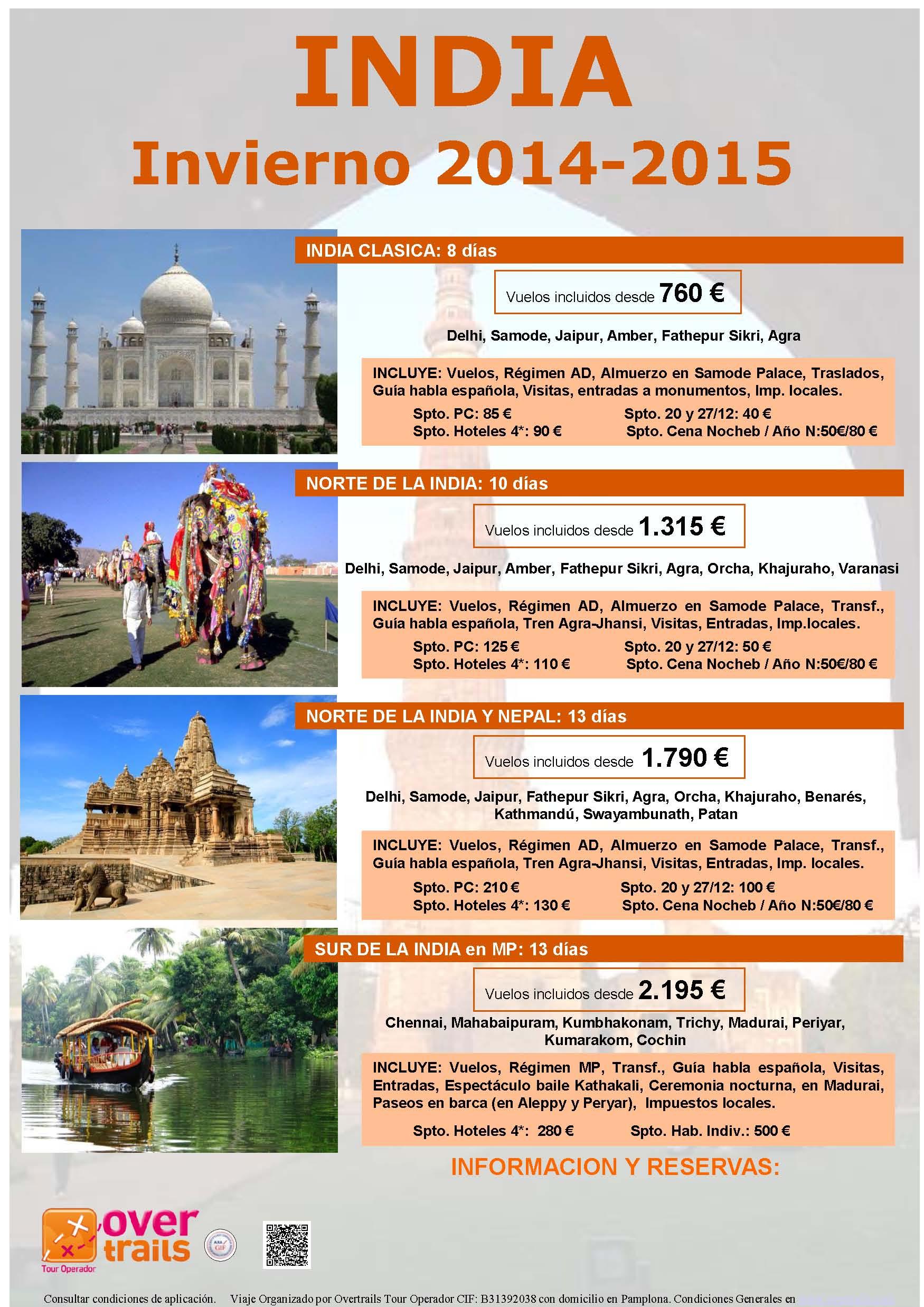 INDIA INVIERNO 2014-2015