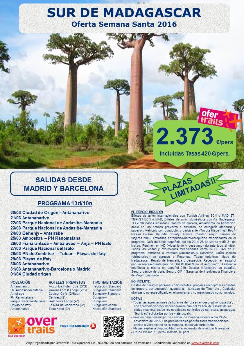 SUR DE MADAGASCAR SSTA 2016