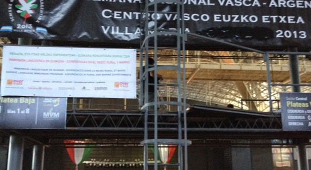 Presentación Overtrails en la Semanas Nacionales Vascas de Villa María y La Plata