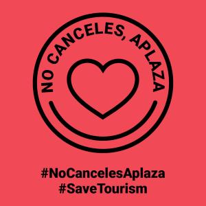 Logo NoCancelesAplaza_SaveTourism