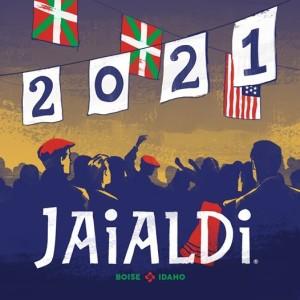 Logo aplazamiento Jaialdi 2020 a 2021